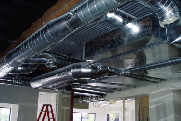Industrial Ventilation Ducting : Lindell engineering inc services